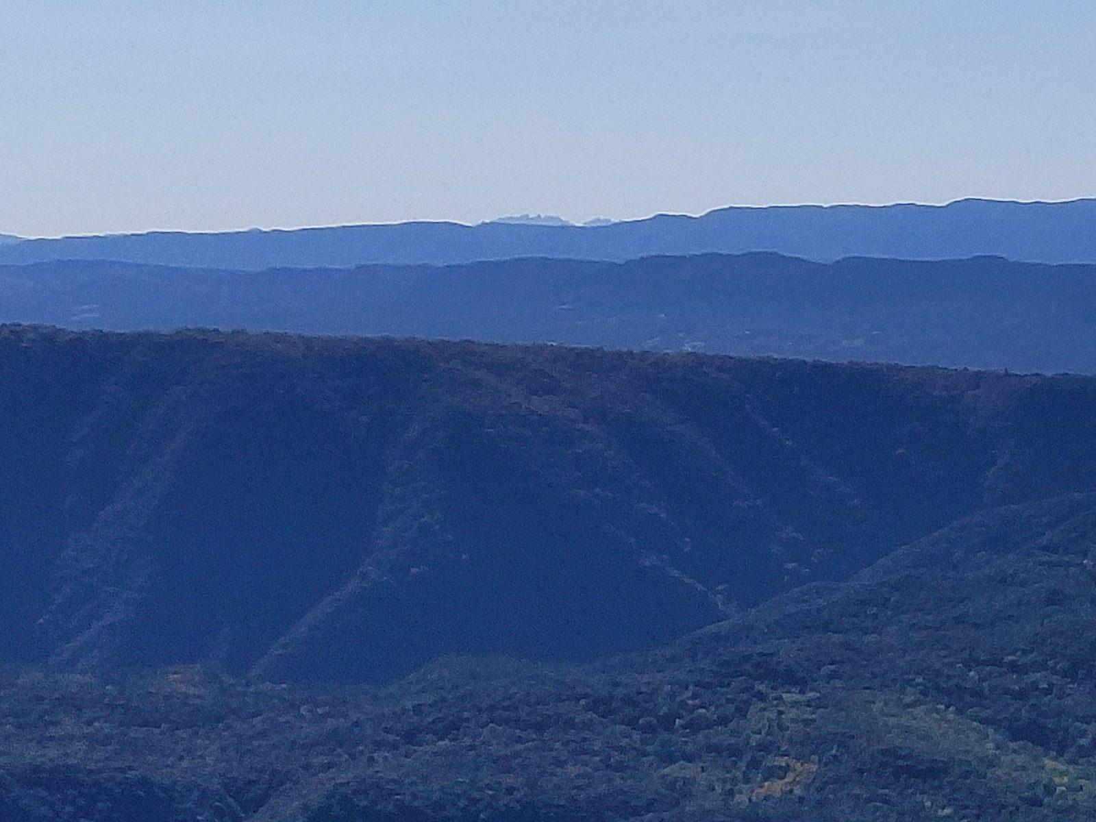 Montserrat des del Far (La Selva) - 75 Kms